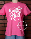 Unisex T-Shirt Vinyl Lettering - Daughter Of The King Christian Extra Large