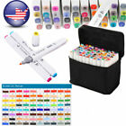 80 Colors Artist Dual Head Sketch Copic type Markers For School Drawing Sketch фото