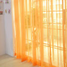 Sheer Voile Window Curtains/Drape/Panel/Scarf Assorted Solid Color Curtain Panel