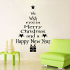 DIY Removable Art Vinyl 3D Wall Stickers Home Decor Mural Christmas Tree Decal