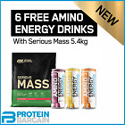 Optimum Nutrition Serious Mass Weight Gainer 5.45kg BEST PRICE ONLINE!