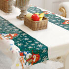 Disposable Merry Christmas Rectangular Printed PVC Cartoon Tablecloth 108*180cm