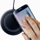Qi Wireless Fast Charger Dock Charging Pad+Receiver for Apple iPhone 5/6/7/Plus