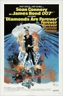 Diamonds are Forever James Bond 007 Movie Poster Iron on Tee T Shirt Transfer £1.95 GBP