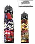 Premium Mad Alchemist Creation E Liquid 0mg &With Nic Shots 5X10ml TPD Juice