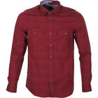 Volcom Grid Mens Shirt Long Sleeve - Port All Sizes