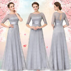 Ever-Pretty US Long Lace Bridesmaid Dresses Evening Mother Of The Bride 08878