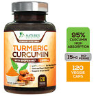Купить Turmeric Curcumin Highest Potency 95% 1950mg with Bioperine Black Pepper Extract
