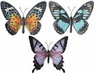 Large Metal Butterfly Garden Outdoor Garden Hanging Ornaments Wall Hanger