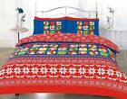 FESTIVE XMAS WINTER STOCK STYLISH MERRY CHRISTMAS DUVET BEDDING SETS MODERN