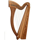 Range of Irish Harps, Celtic Irish Harp with levers, Irish Harps for Beginners