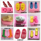 Shoes Clothes Silicone Cake Fondant Cookies Biscuit Chocolate Mold Tortenfiguren