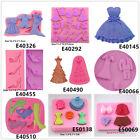 Shoe Clothes Silicone Cake Fondant Cookies Biscuit Chocolate Mold Tortenfiguren
