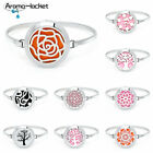 Aromatherapy Essential Oil Bracelet Diffuser Locket Jewelry Stainless Steel