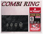 Shout 82-CR Combi Ring Split Ring with Solid Ring Tackle Jigging Fishing