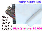 Poly Mailers Shipping Envelopes Self Sealing Mailing Bags Pick 1-2000 2.0 mil