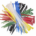 Cable Ties 203 x 4.8mm All Colours Choose Quantity Cable Tie Nylon 66