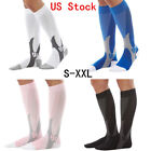 1-2pairs Man Sports Compression Socks Leg Support Orthopedic Stockings Hose Sox