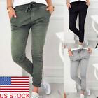 Women High Waisted Slim Skinny Leggings Stretchy Pants Jeggings Pencil Pants US