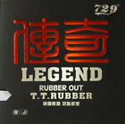 729 Friendship Legend Rubber out Table Tennis Rubber Pip-out Red
