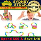 Fun Finger Twister Fiddle Fidget Stress ADHD  Sensory Help Stop Smoking Toy Aid