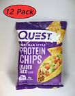 Quest Protein Chips 22g PROTEIN 2g Net Carb - 12 PACK - NEW 12 COUNT PACKAGE