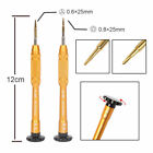 Y 0.6mm Tri-point 0.8mm Screwdriver + 7Pcs Opening Tool For Apple IPhone 8 7 6 5
