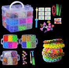 making loom bracelet - 4800x 15000× Colorful Rainbow Rubber Bracelet Loom Bands Making Kit Set Fun DIY