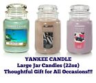 Yankee Jar Candles 22oz Jar Candle Thoughtful Gift--Any Occasion--Buy 2 & SAVE