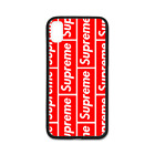 Hot Fashion Supreme Trendy TPU Case Cover for iPhone X 8 8+ 7 7 Plus 6 6+ 5S
