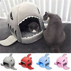 Pet Products Supplies Dog Cat Portable Sleeping Bed Warm Soft Shark House Home