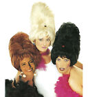BEEHIVE WIG BOUFFANT 60'S MOD GROOVY PANTOMIME UGLY SISTERS QUEEN FANCY DRESS