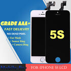 A1533 A1453 LCD Touch Screen Digitizer Full Assembly Replacement For iPhone5S