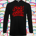 Ozzy Osbourne Logo Metal Band Long Sleeve Black T-Shirt Size S to 3XL image
