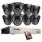 8 channel dvr security system - ZOSI 1080P HDMI HD 8CH TVI DVR 720P Outdoor CCTV Home Security Camera System 1TB