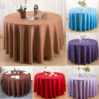 11 Colors Round Tablecloths Home Wedding Event Party Function Deco Table Cloth