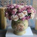 2017 15 Heads Artificial Silk Flowers Rose Floral For Home Party Wedding Decor