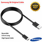 Original 1/2M Type-C Data Sync Fast Charger Cable For Samsung Galaxy S8/S8 Plus
