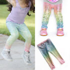 Newborn Girl Baby Sequin Leggings Pants Trousers Clothes Outfits Bottoms