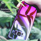 For Samsung Galaxy S8 S7 Edge Gradient Colorful PC Shockproof Phone Case Cover