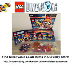 Image of LEGO Dimensions Fun, Team & Level Packs -- MASSIVE COLLECTION!! -- On Offer !!