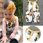 Child Sleeveless Printing Jumpsuits Cute Baby One-Pieces Baby Clothes E0109
