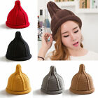 Fashion Women Winter Warm New Fashion Knitted Pointy Hats Christmas Gift Cap New