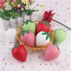 US Fruit Squishy Toy Strawberry Peaches Foam Ball Slow Rising Squeeze Toy Gift