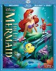 The Little Mermaid Blu-ray/DVD, 2013, 2-Disc Set, Diamond Edition w/Slipcover фото
