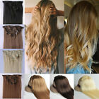 Blonde Hair Extensions Clip in Hair Extension real Human Feel