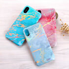 Luxury Case For iPhone X Edition 8 Marbling Pattern Soft TPU Rubber Thin Cover