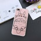 Japan My Neighbor Totoro Hard Silicone TPU Bumper Cover Case For iphone6/6 plus