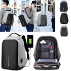 Fashion Unisex Anti-Theft Backpack Computer Notebook School Travel Laptop Bags