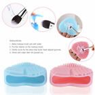 Silicone Makeup Brush Cleaners Pad Mat Washing Cleaning Scrubber Board Heart on eBay